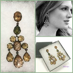 stella & dot ~ estate chandelier earrings